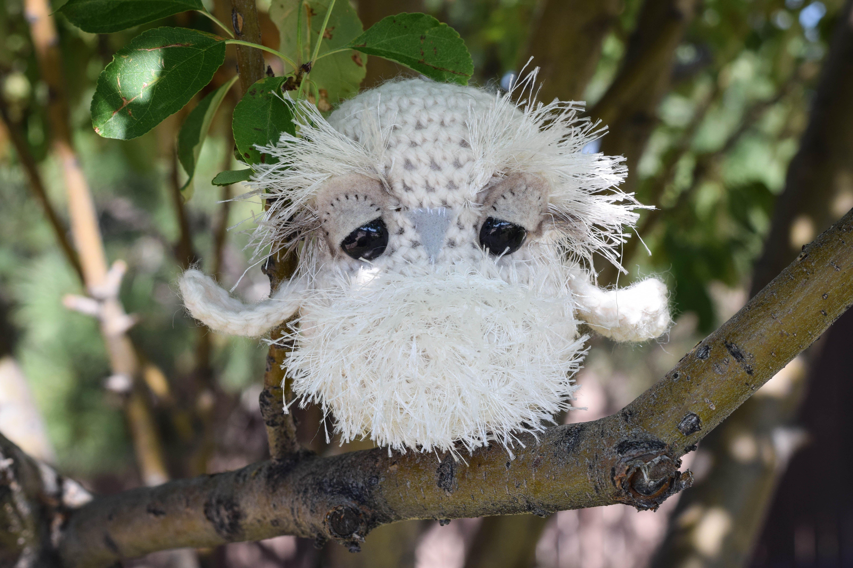 Baby Snow Owl Crochet Pattern | Pinterest