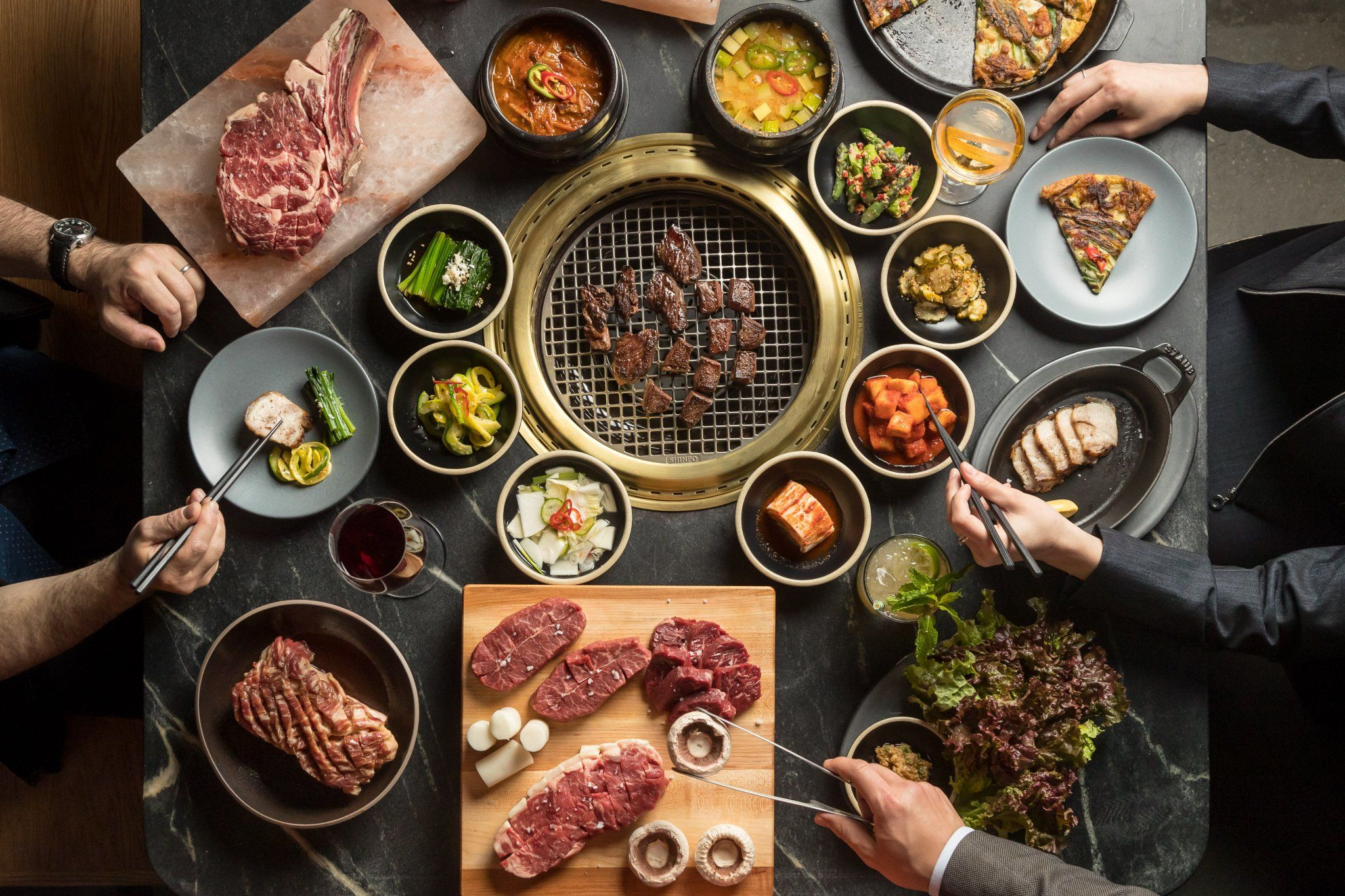 Cote Is New York City S First Korean Steakhouse Vegetable Recipes Dinner Food Eat