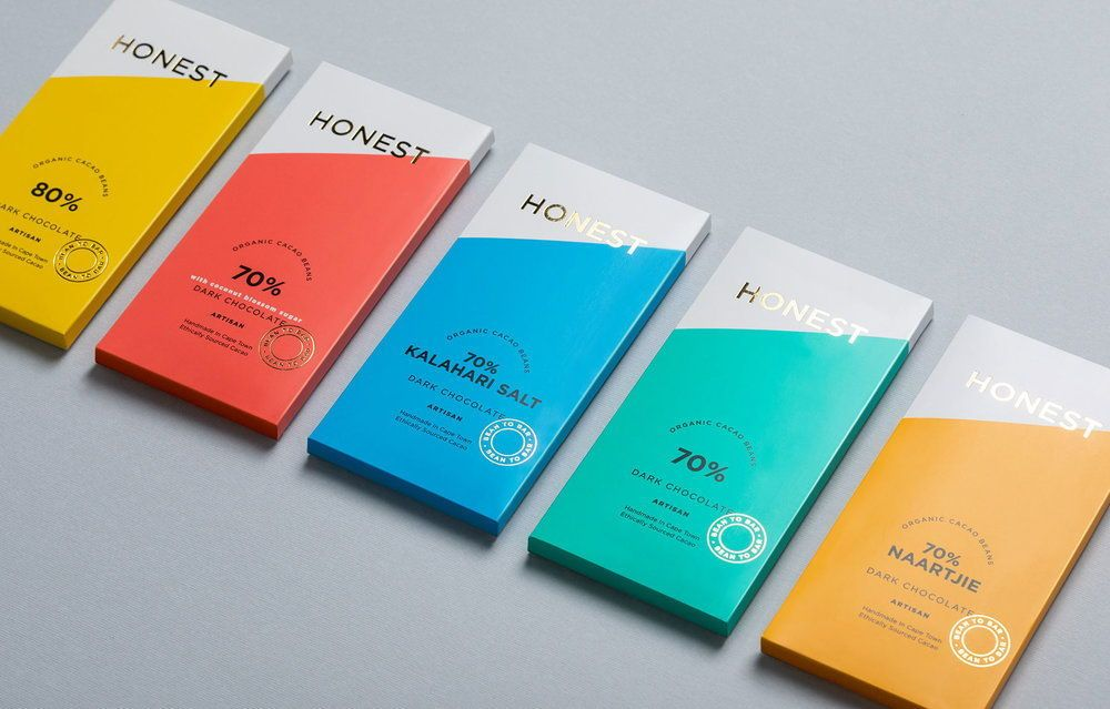 30 Packaging Designs That Feature Color Blocking is part of Modern packaging design, Modern packaging, Chocolate packaging design, Packaging design, Logo packaging design, Simple packaging - At Dieline, we've always been partial to bold colors, and in honor of Spring being right around the corner, we've picked out 30 beautiful designs that feature the use of color blocking