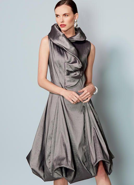 Kathryn Brenne for Vogue Patterns. V9241 MISSES\' PRINCESS SEAM ...