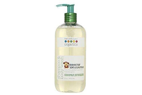 Nature S Baby Organics Shampoo Body Wash Vanilla Tangerine 8