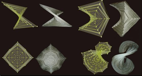 """History of Curved-Crease Sculpture Computational Origami"""""""