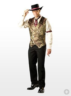 f11681414202 Wild West Poker Player | Old west | Western costumes, Halloween ...