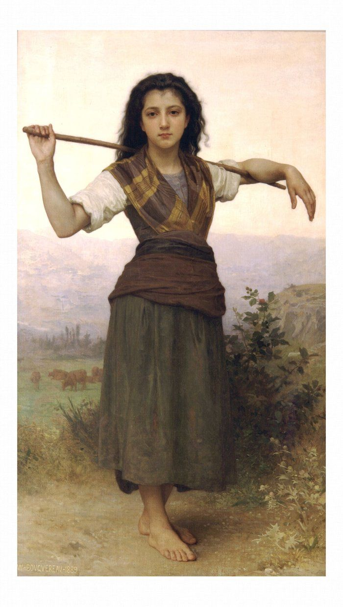 La Petite Ophelie, 1875 Giclee Print by William Adolphe