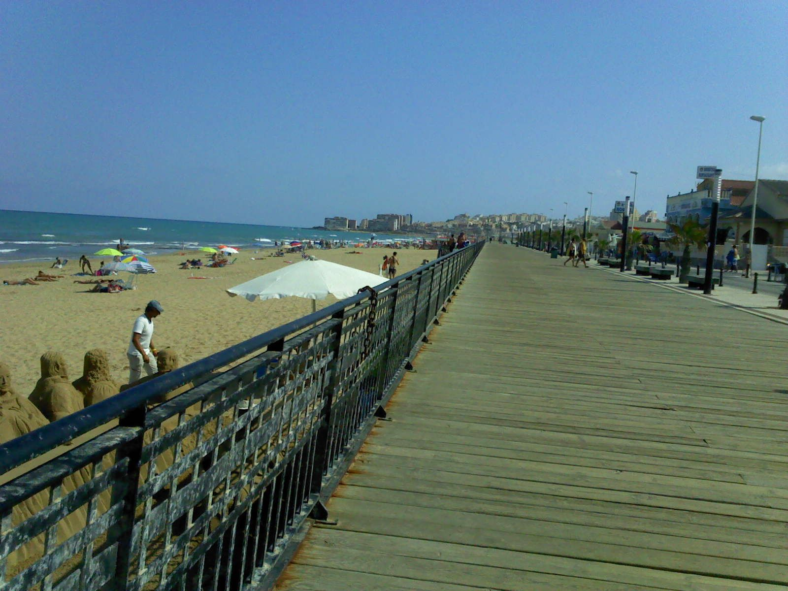 The Boardwalk At La Mata Spain Been To La Mata Three Times Love The Laid Back Feel Of The Place Not Such A Great Hike Back To The Appartment Through The