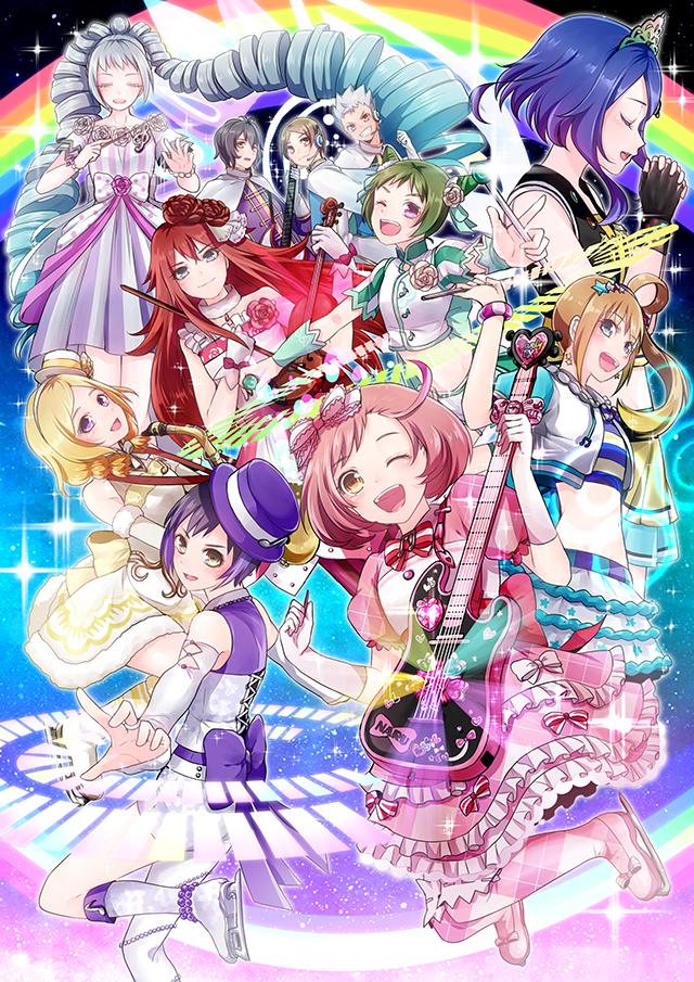 pretty rhythm rainbow live boy meets girl #1: boy meets girl by prizmmy☆ (eps 1-13) #2: ez do dance by prizmmy☆ (eps 14-26) #3: crazy gonna crazy by prizmmy☆ (eps 27-39) #4: butterfly effect by prizmmy☆ (eps 40-51) ending theme: #1:  rainbowxrainbow by prism☆box (eps 1-13) #2: § rainbow by i☆ris (eps 14-26.