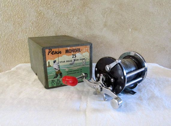Fishing reel johnson vintage