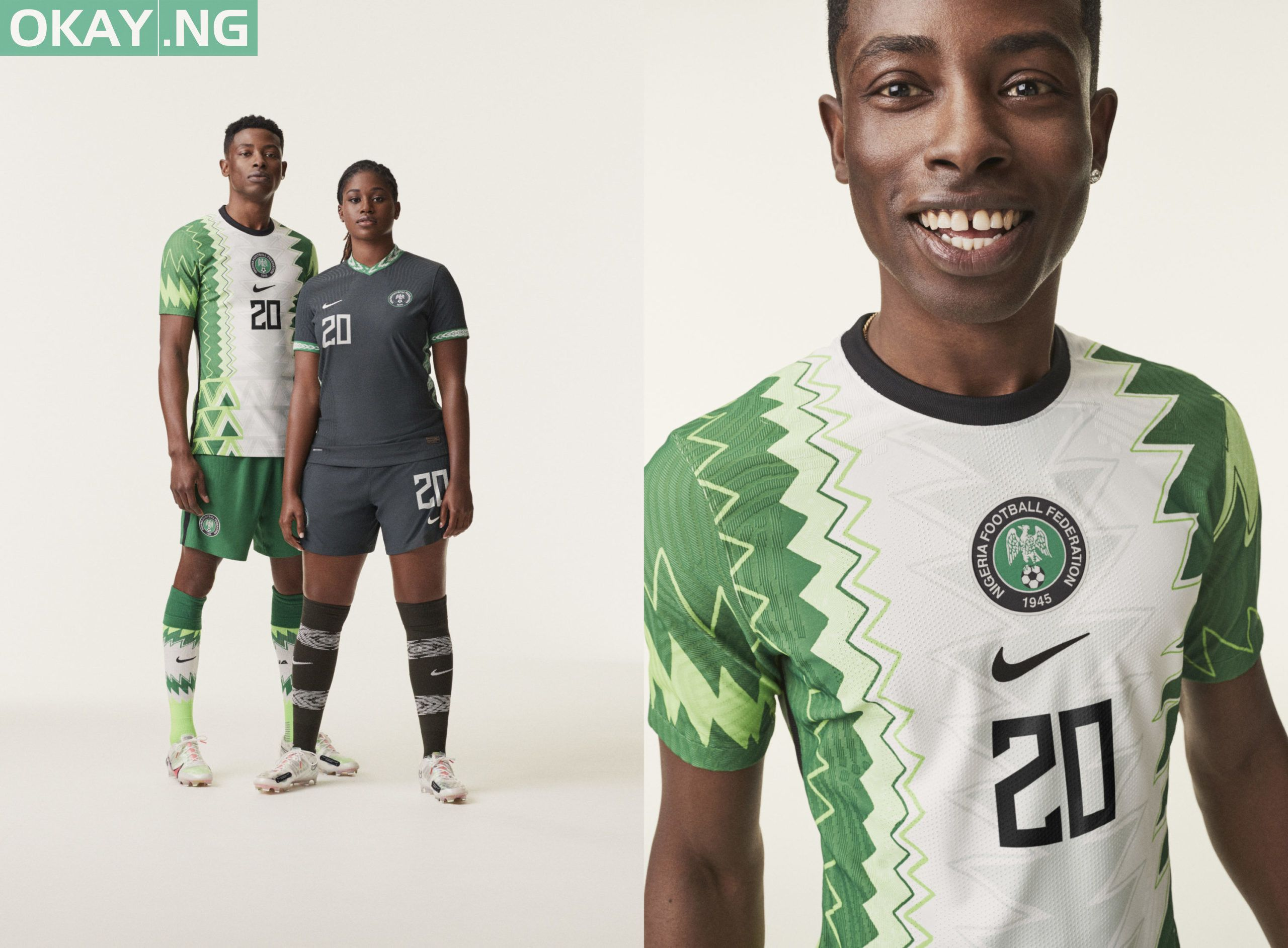 Nike Releases New 2020 Jersey For Nigeria S Super Eagles Photos