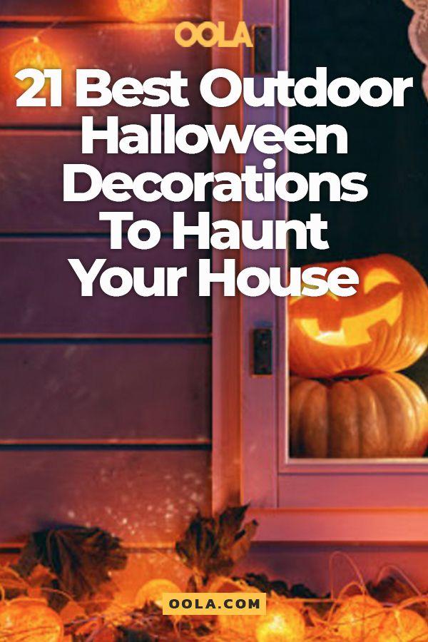 21 Best Outdoor Halloween Decorations To Haunt Your House Outdoors