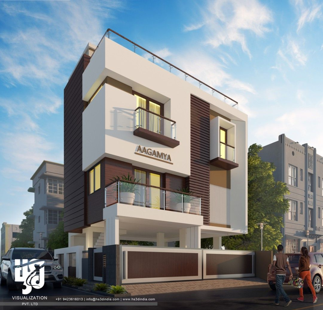 Shadow Hills Apartments: HS3D Visualization Is An Indian Creative Group Which