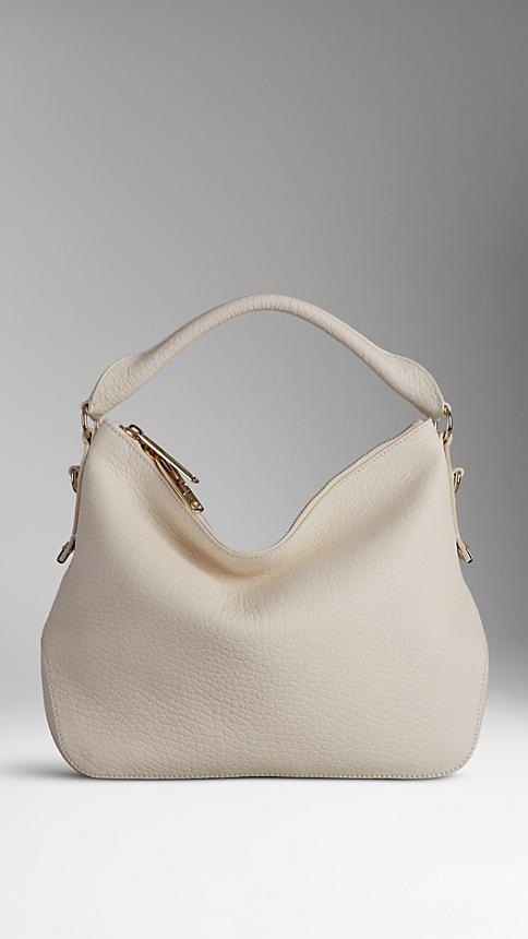 Small Heritage Grain Leather Hobo Bag Burberry Bags Shoulder Bag Leather Hobo Bag