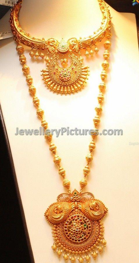 Antique necklace and antique finish necklaces latest designs gold antique necklace and antique finish necklaces latest designs aloadofball Gallery