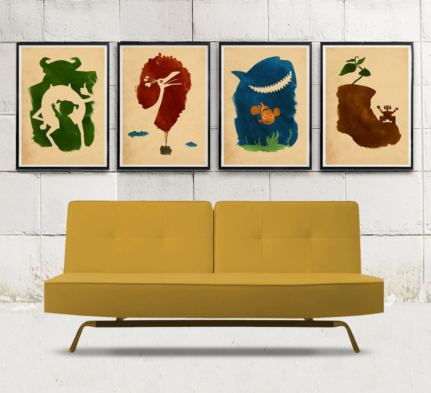 Awesome Monsters Inc Wall Decor Sketch - Wall Art Collections ...