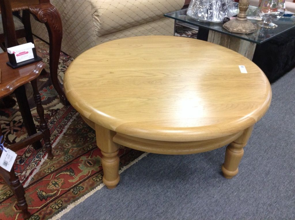 Round Oak Coffee Table Round Oak Coffee Table 40 Inch Diameter Item 253 Price Http