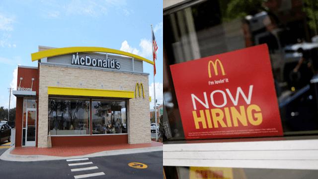 Mcdonald S Vacancy Jobs In Usa Job Mcdonalds Find A Job