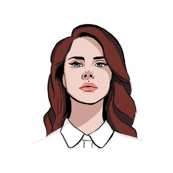 Lana Del Rey Art Print Liked On Polyvore Lana Del Rey Art Lana Del Rey Tattoos Lana Del Rey