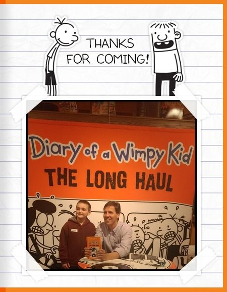 Road trip'n with @wimpykid on #TheLongHaul tour!