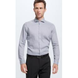 Photo of Sereno shirt, navy patterned StrellsonStrellson