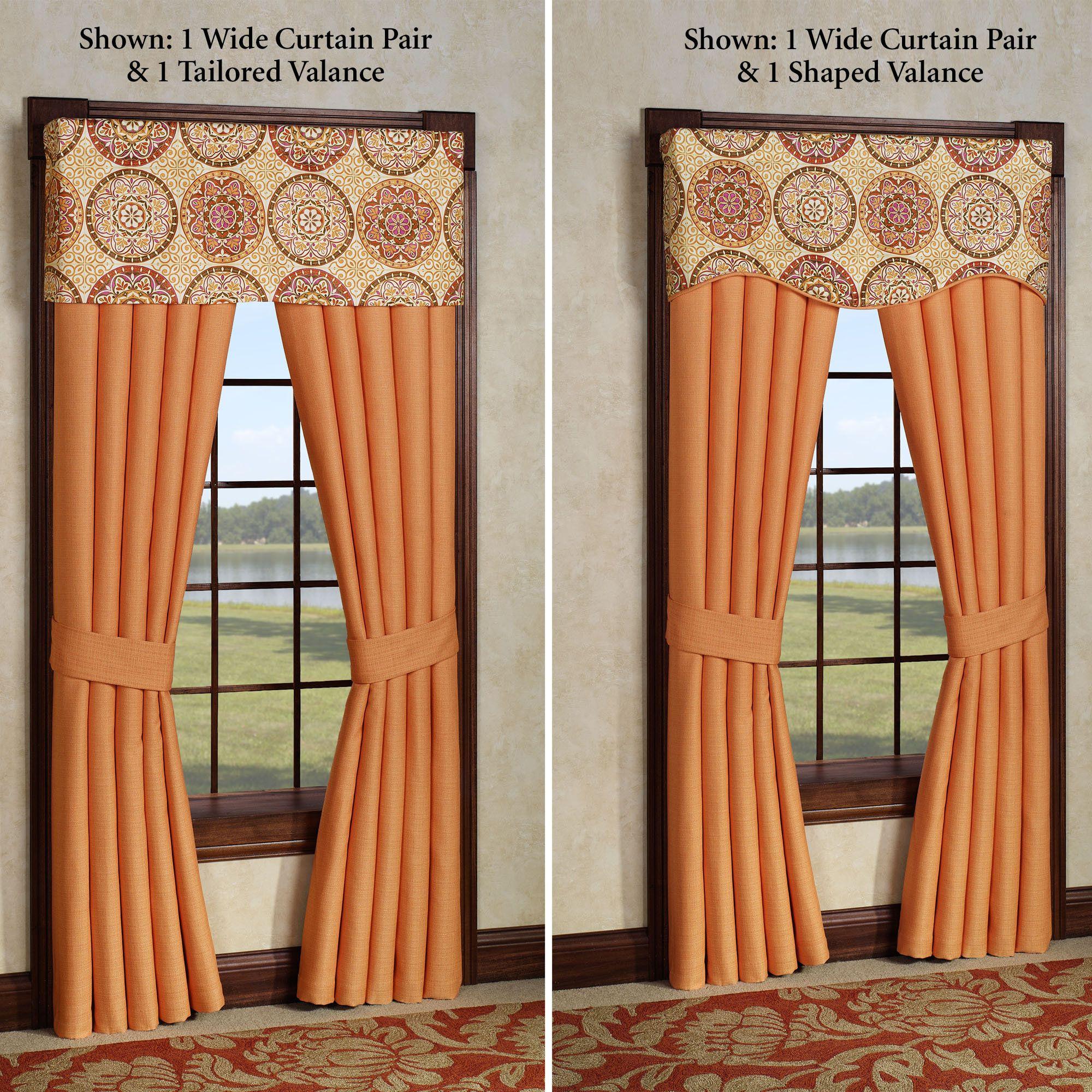 Orange window treatments decoration dainty orange curtains window treatment design for any
