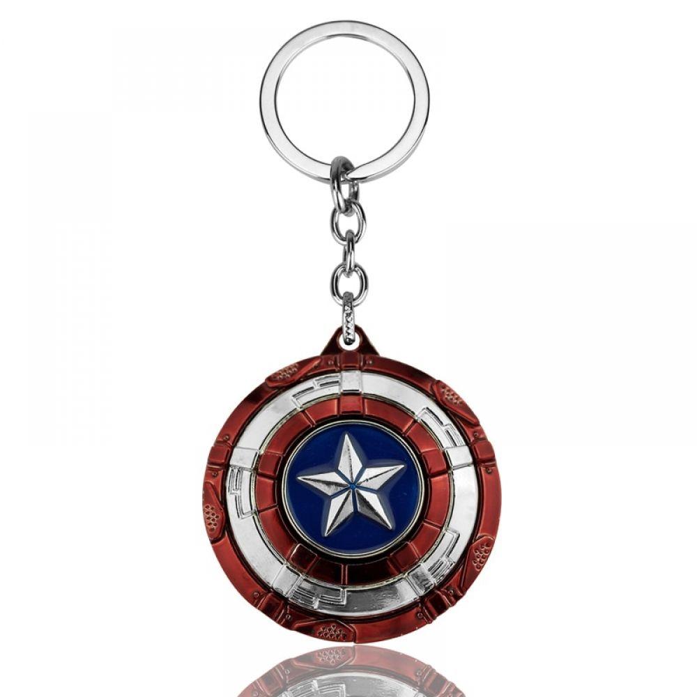 US Marvel Avengers Captain America Shield Alloy Key Chains Keychain Keyring HOT