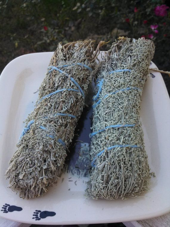Sage Lavender and Sweetgrass Smudge Stick by HonoringMotherEarth