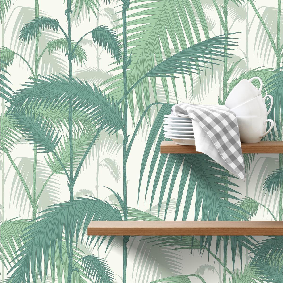 papier peint palm jungle cole and son cole and sons wallpaper wallpaper palm et cole son. Black Bedroom Furniture Sets. Home Design Ideas