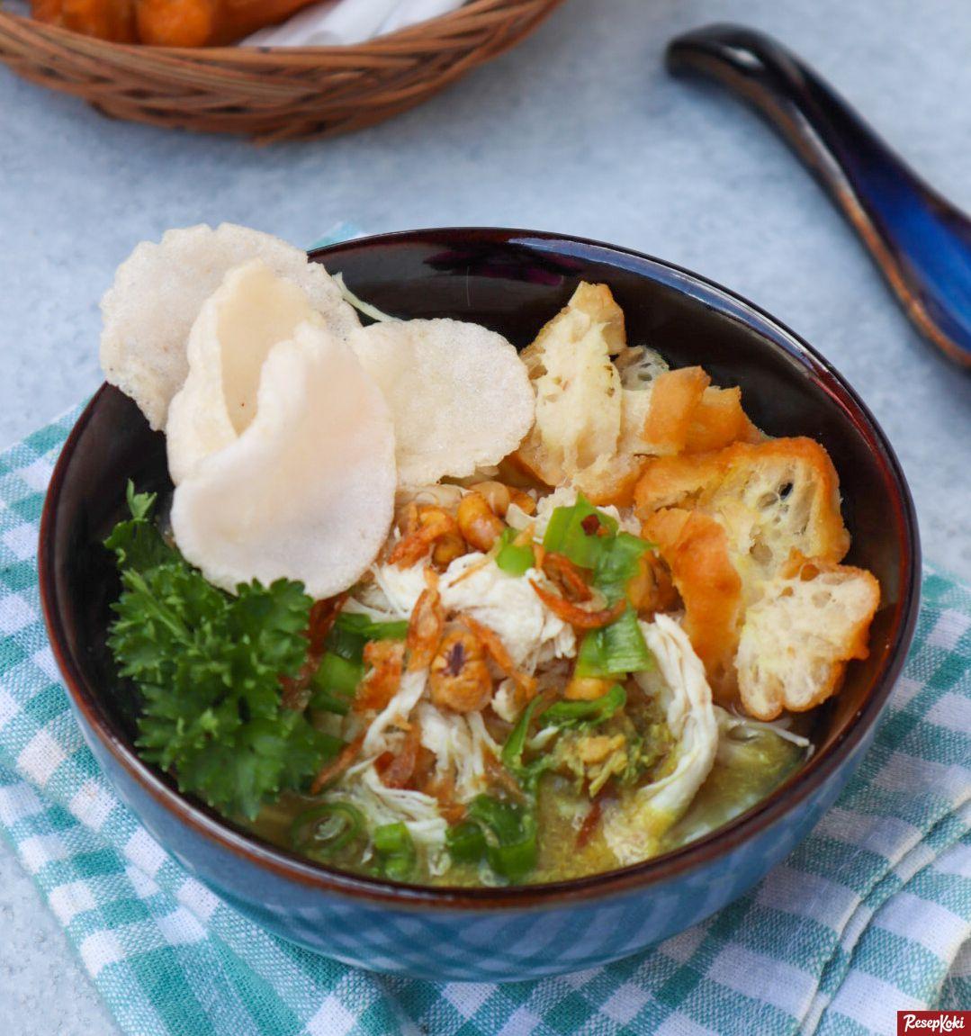 Bubur Ayam Cirebon Lezat Dan Sederhana Resep Resepkoki Resep Resep Resep Makanan Makanan