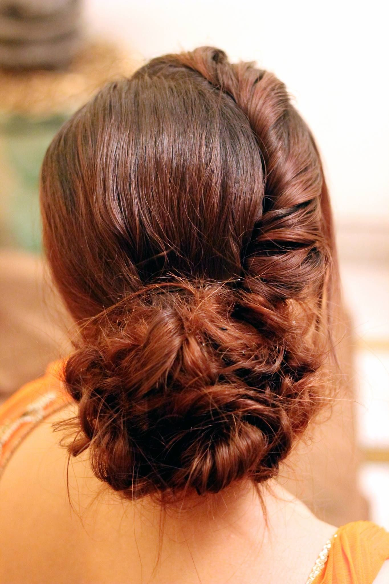 Hairstyle for bride wedding india indian