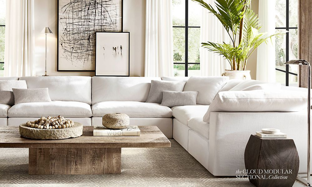 Good The Cloud Collection   A Modular Sofa Like This Could Work. Plush And Comfy  And