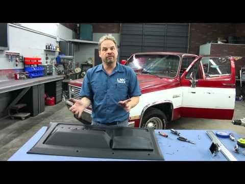 418 Lmc Truck 1981 87 Chevy Gmc Truck Door Panel Installation With Kevin Tetz Youtube Lmc Truck Gmc Gmc Truck