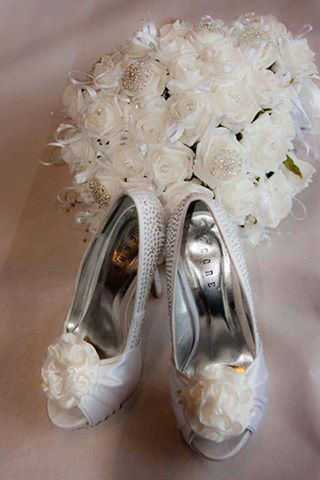 Flowers & shoes...