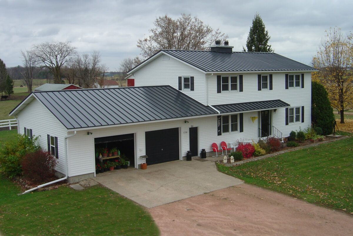 Types Of Residential Roofs We Service Metal Roof Corrugated Roofing