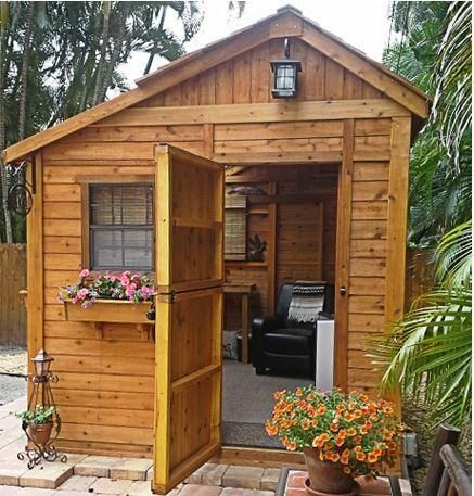 Shed Living : Outdoor Living Today - 8 x 8 Sunshed Garden Shed with ...