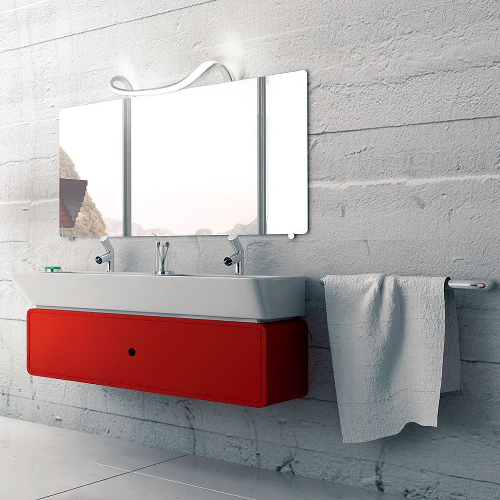 Mantra Sisley 5087 Badezimmer Led Design Spiegelleuchte Badezimmer Led Led Badezimmer