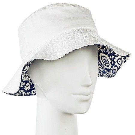 Women s Bucket Hat White - Merona™   Target  3728c5ac060