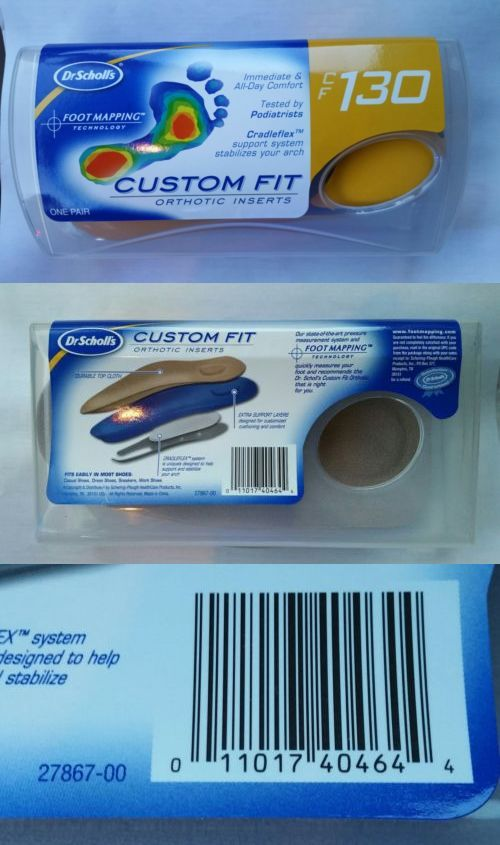 Shoe Insoles 169284: Dr. Scholl S Custom Fit Orthotic ... on dr scholl's massager with heat, dr scholl's feet, dr scholl's massaging machine percushion,