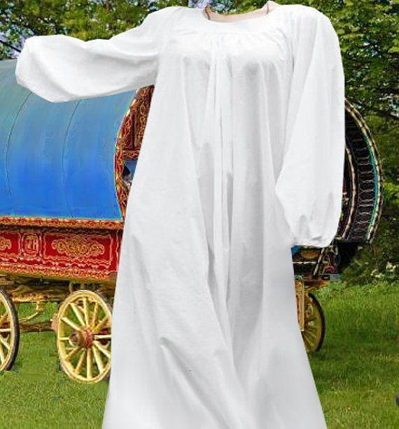 194dad31a Free Ship! Classic Chemise SCA garb Medieval Renaissance Petticoat ...
