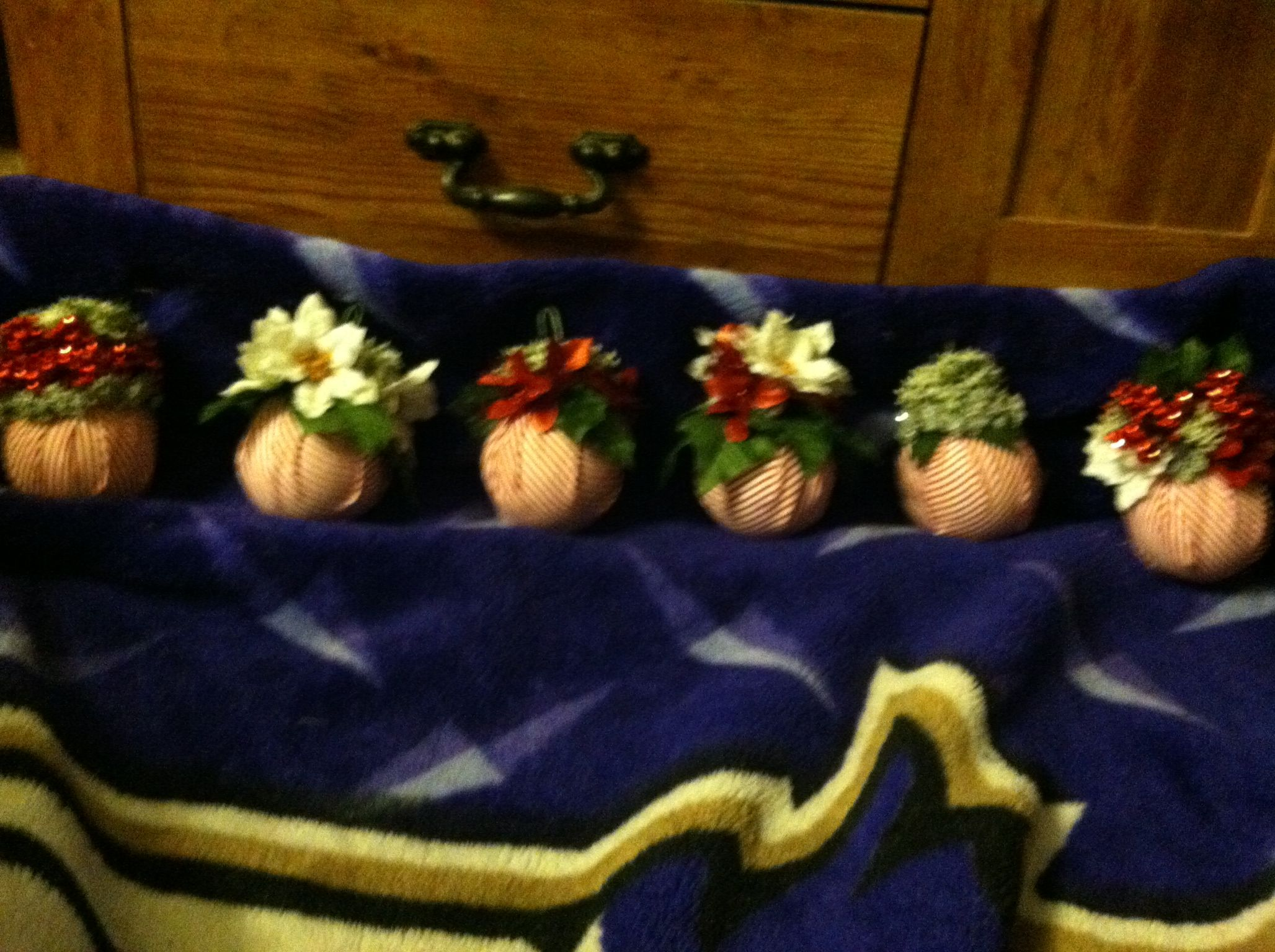Some ornaments made for tree
