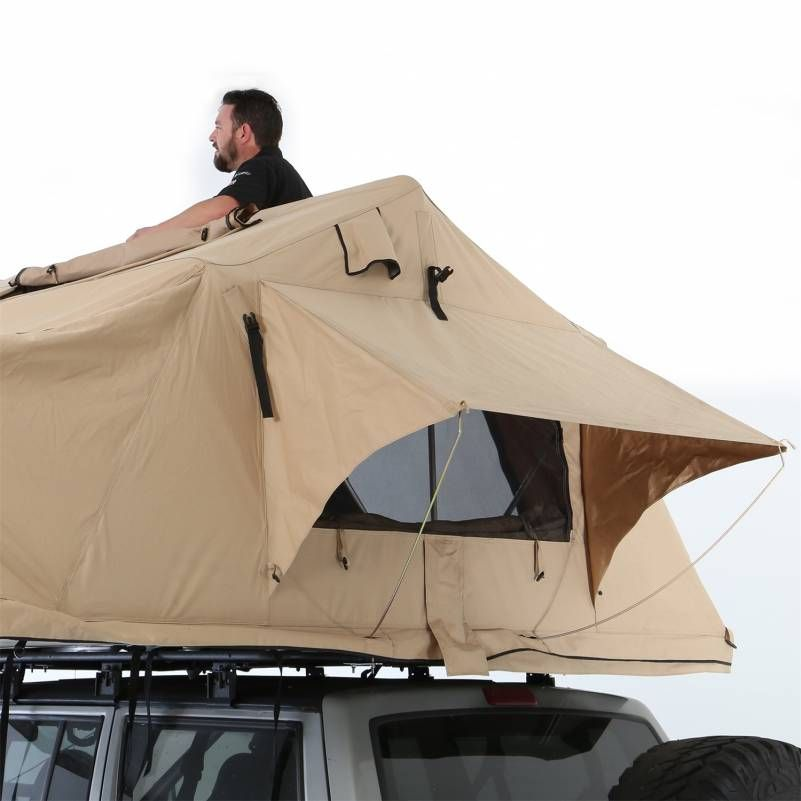 Smittybilt is stepping up to the plate with their first offering into the roof top tent market. The Smittybilt Overlander XL RTT is constructed of durable ...  sc 1 st  Pinterest & Overland Tent Smittybilt 2883 - Offroad Parts u0026 Accessories ...