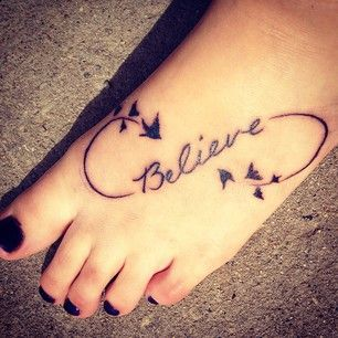 Believe Tattoos With Heart Google Search Like This But Maybe On
