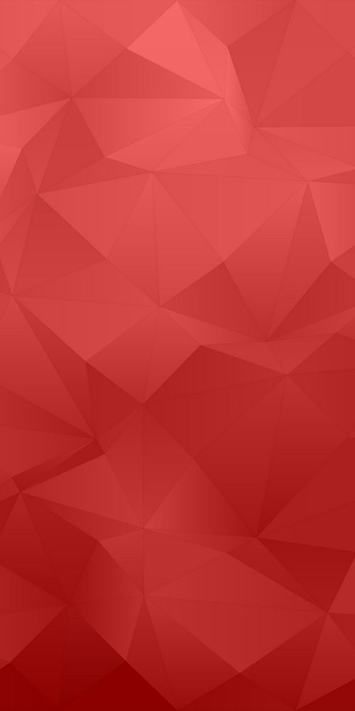 Red Abstract Irregular Triangle Pattern Background Mosaic