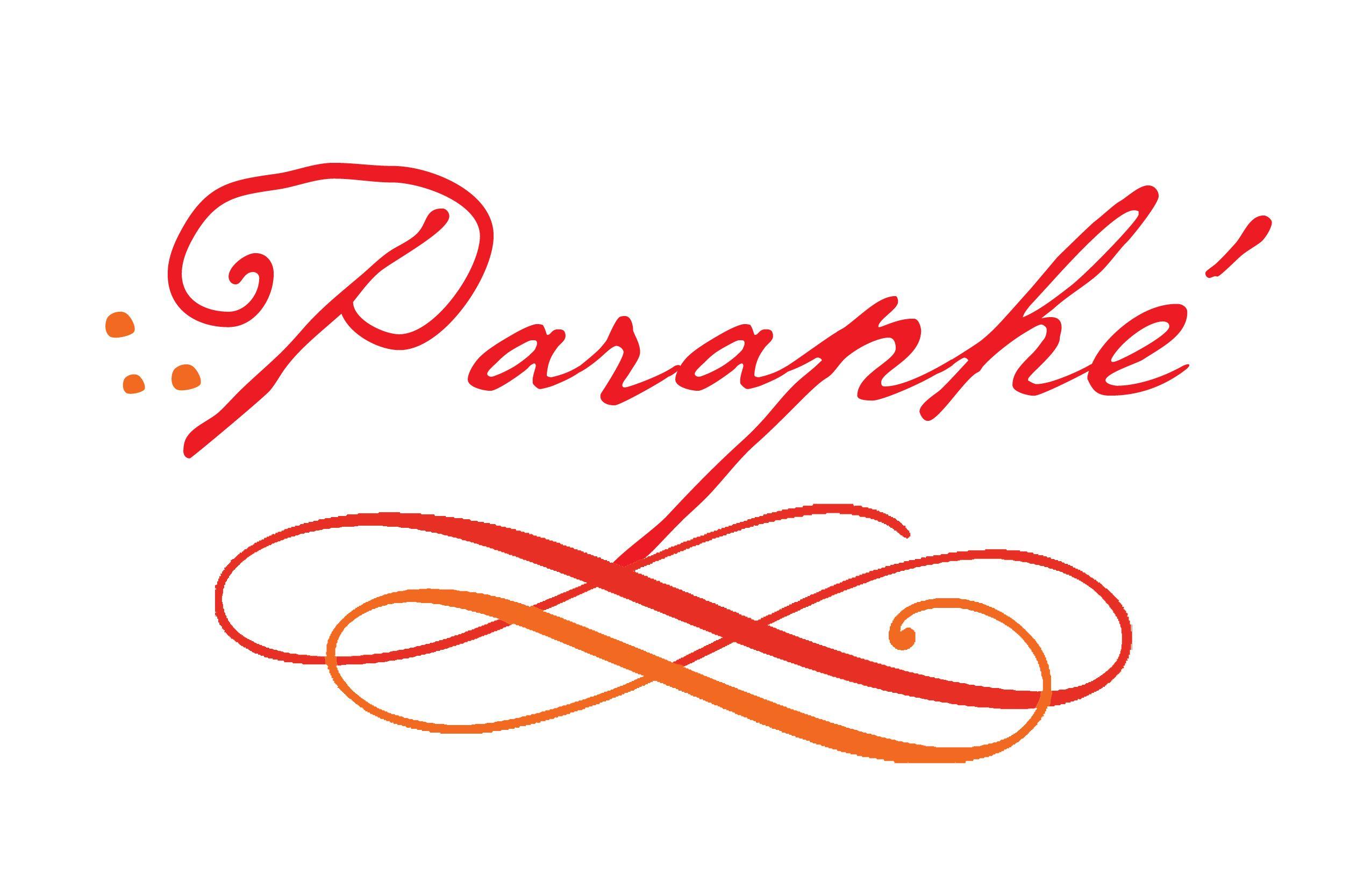 Paraphé Five Art business, Art, Calligraphy