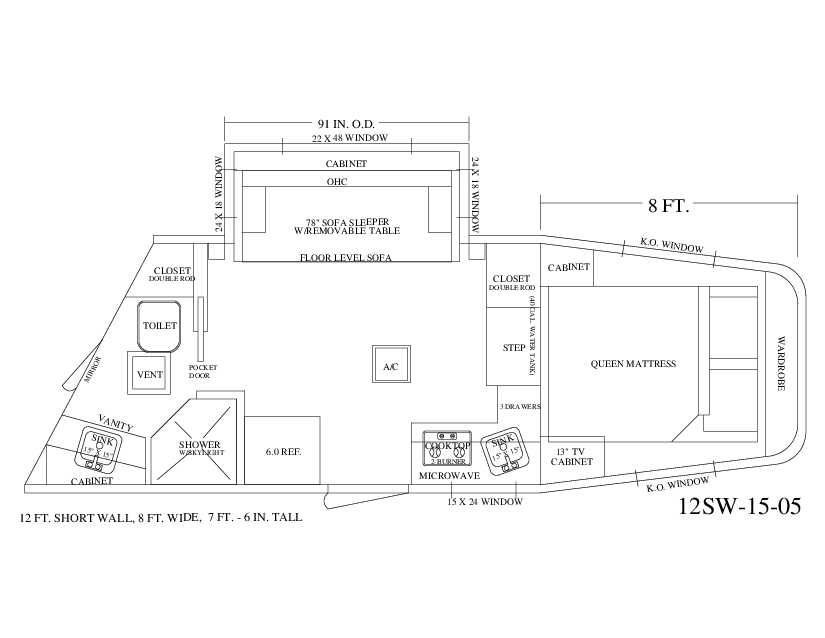New And Used Living Quarters Horse Trailers For Sale Rv Floor Plans Horse Trailers For Sale Park Model Rv