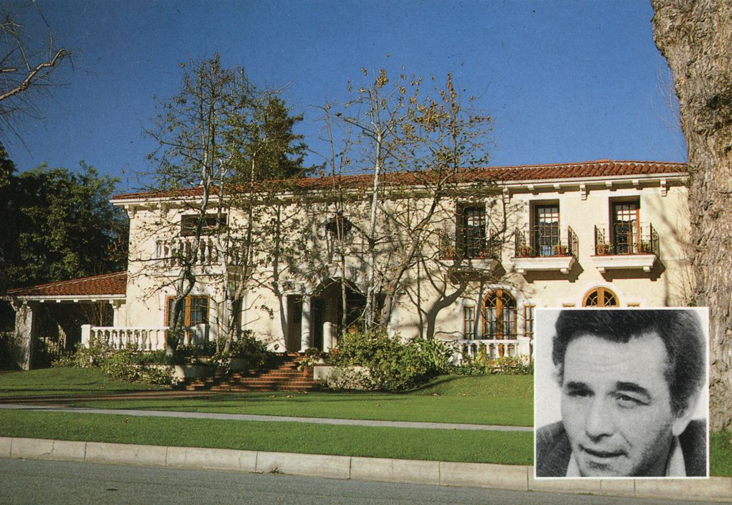 Home of peter falk beverly hills california homes of for Movie star homes beverly hills