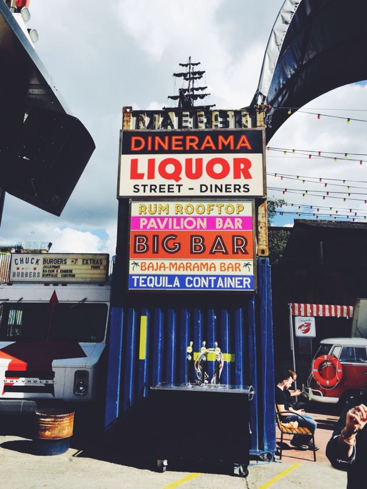 Dinerama Shoreditch: Street Food And Drinks