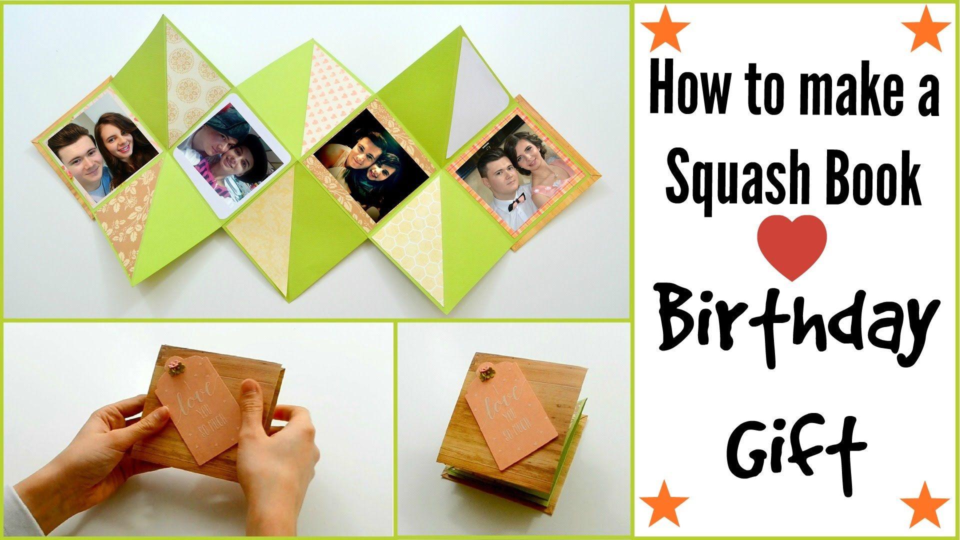 Diy paper crafts how to make a squash card squash book craft jeuxipadfo Images