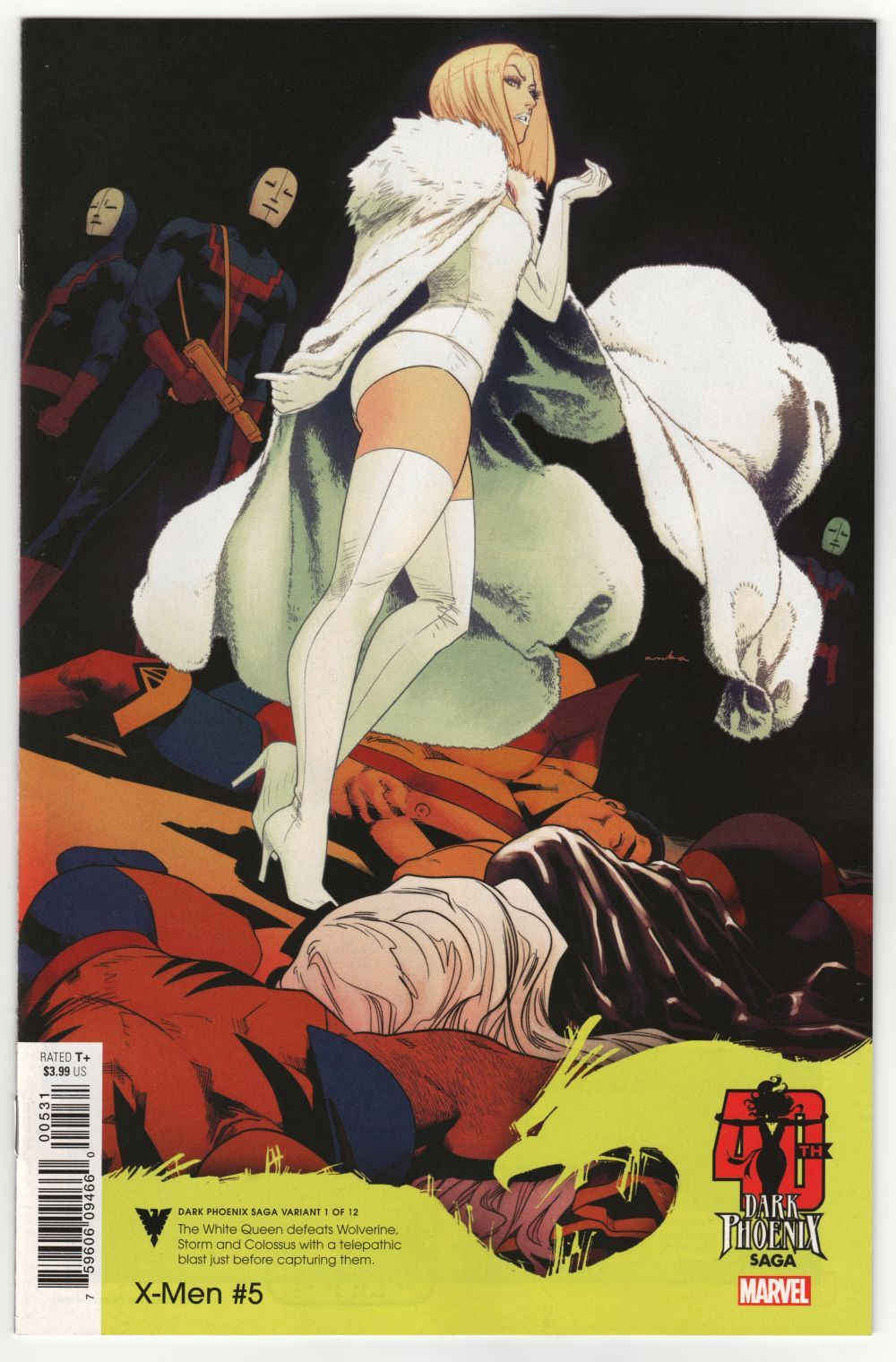 X Men 5 Anka Dark Phoenix 40th Variant Marvel 2020 Nm In 2020 Comic Books Art Dark Phoenix X Men 5