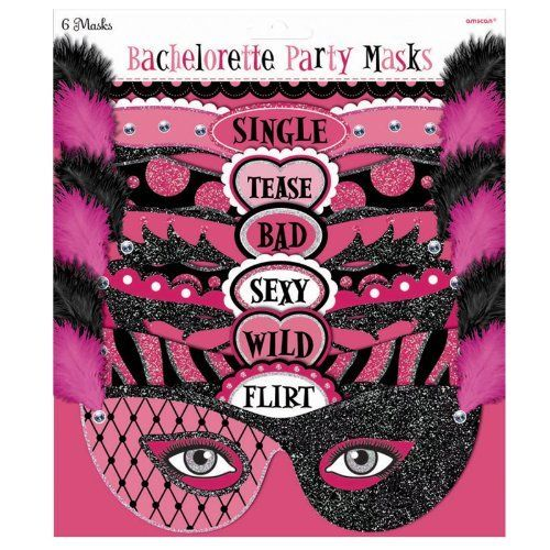 Bachelorette Party Masks - Official Party Supplies Amscan: I considered this but decided against it. Maybe someone else may find them fun. http://www.amazon.com/dp/B006TSRK2I/ref=cm_sw_r_pi_dp_-j3crb0AB47KZ