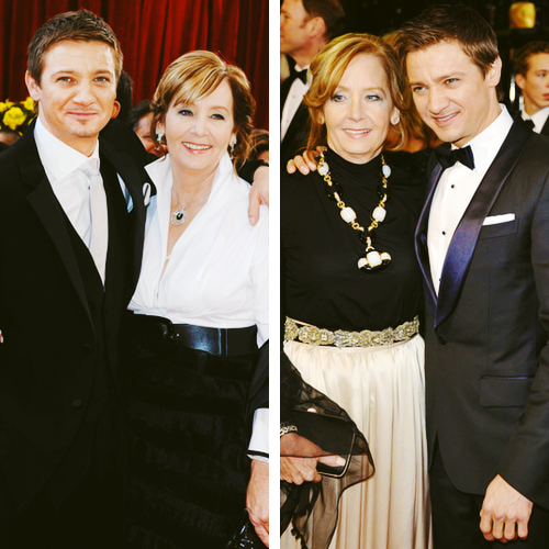 Jeremy Renner and his mom Valerie Cearley