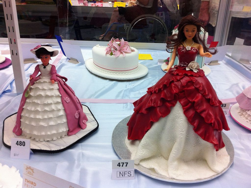 Queensland Cake Decorating competition display at Brisbane ...